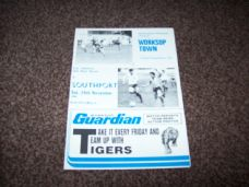 Worksop Town v Southport, 1984/85 [FAT]